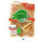 竹田製菓 麦ふぁ〜2パック 16枚×10個※取り寄せ商品(注文確定後6-20日頂きます) 返品不可