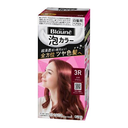 泡カラー / 本体 / 【3R】ロゼブラウン / 108ml