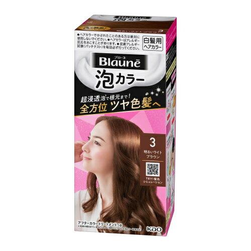 泡カラー / 本体 / 【3】明るいライトブラウン / 108ml