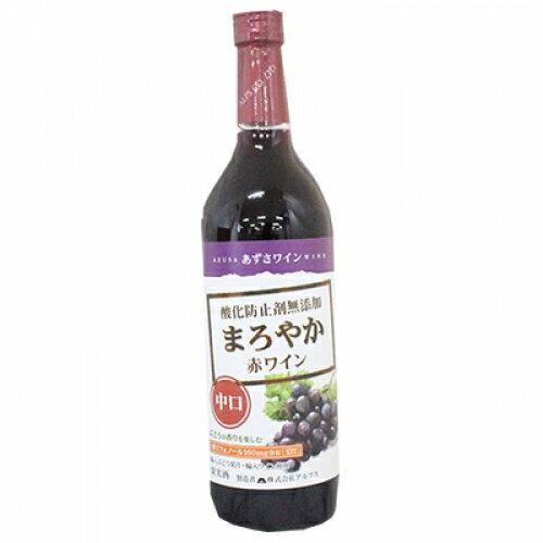 【洋酒】あずさワイン 無添加コンコード 赤720ml×12個