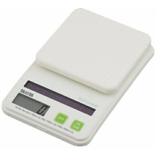 タニタ デジタルソーラークッキングスケール SD-004 グリーン×12個※取り寄せ商品(注文確定後6-20日頂きます) 返品不可:くすりのレデイハートショップ