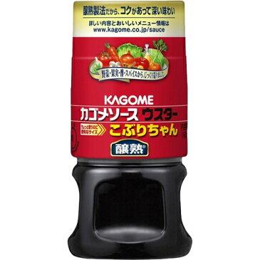 カゴメ 醸熟 ウスターソース こぶりちゃん 160ml×5個