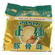 東水 マルちゃん正麺 豚骨味 (5食パック)