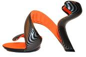 国内正規品JulianHakesジュリアンヘイクスモヒートCarbon/Orange36(23.5cm~24.0cm)No.14072400