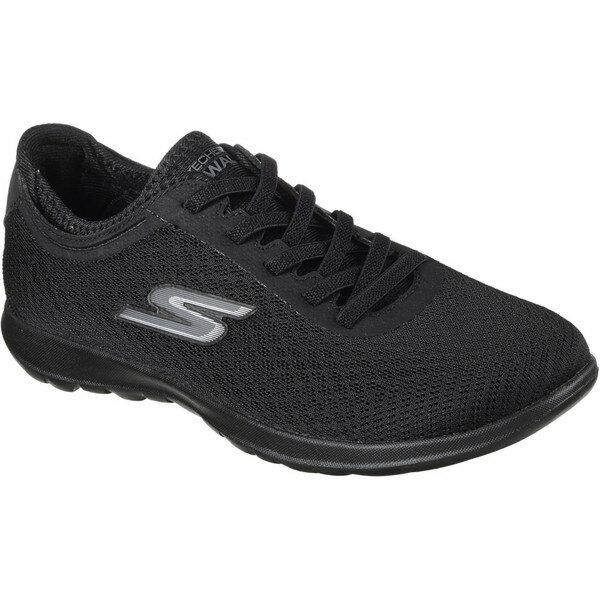 レディース靴, スニーカー SKECHERS GO WALK LITE - IMPULSE 15350-BBK