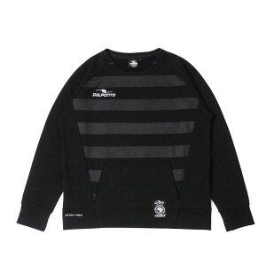 ダウポンチ(DALPONTE) トレーニングスウェットクルーネックシャツ DPZ0256-BLK メンズ