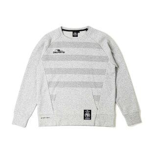ダウポンチ(DALPONTE) トレーニングスウェットクルーネックシャツ DPZ0256-GRY メンズ
