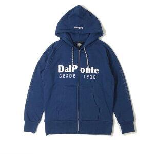 ダウポンチ(DALPONTE) スウェットジップパーカー DPZ0259-NVY メンズ