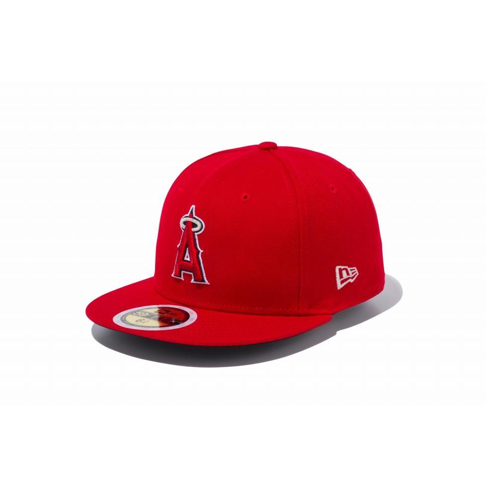 ニューエラ(NEW ERA) Kids 59FIFTY MLB オンフィールド ロサンゼルス・エンゼルス ゲーム キッズ 11901040 ジュニア画像