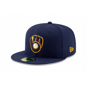 ニューエラ(NEW ERA) 59FIFTY MLB オンフィールド ミルウォーキー・ブルワーズ オルタネイト2 12026661 メンズ レディース 男女兼用