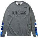 SPALDING(スポルディング) ロングスリーブTシャツ DUKEカモ バスケット Tシャツ SMT211440-1700 長袖
