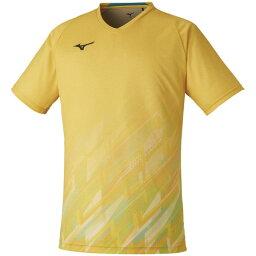 MIZUNO(ミズノ) クイックドライゲームシャツ バドミントン アパレル ユニセックス 男女兼用 72MA100245
