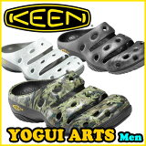 KEEN(キーン) YOGUI ARTS ヨギ アーツ【メンズ】 アウトドア/サンダル/クロッグ/ウォーター 正規品(ランキング1位)