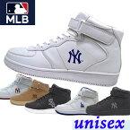 Major League Baseball(メジャーリーグベースボール)MLB スニーカーシューズ ハイカット NY【ユニセックス】 [ MLB-2011 ]