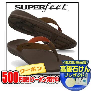 【500円割引クーポンあり!さらに高級石けんプレゼント】スーパーフィート(SUPER feet)サンダル アウトサイド メンズ バイソン【MS1798】 シューズ