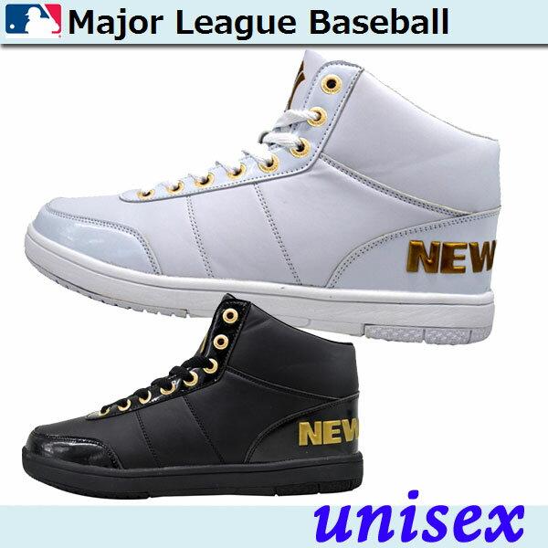 Major League Baseball(メジャーリーグベースボール) スニーカーシューズ ハイカット【ユニセックス】 [ MLB2001 ]画像