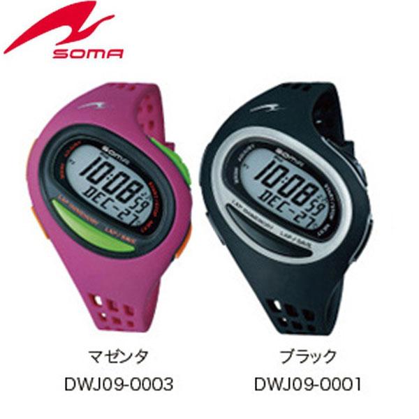 38c08cc631 SOMA(ソーマ) ランニングウォッチ RunONE 100SL 【DWJ09】 ミディアムサイズ スポーツ時計 腕時計