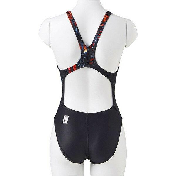17FWスピード(Speedo)レディース競泳用水着Fina承認FastskinXT-WウイメンズエイムカットスーツSD47B58-K