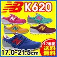 17SS ニューバランス NewBalance K620 キッズシューズ ジュニア (17.0〜21.0cm)【RCP】 【送料無料】
