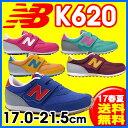 17SS ニューバランス NewBalance K620 キッズシューズ ジュニア (17.0〜21.0cm)(予約販売あり)【RCP】 【送料無料】