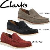 クラークス(Clarks) スリッポン モカシンシューズ デーキンエッジ メンズ【RCP】 【送料無料】