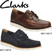 クラークス(Clarks) モカシン レザーシューズ デーキンボート メンズ【RCP】 【送料無料】