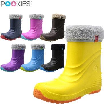 POOKIES(プーキーズ)スノーブーツ 防水 防寒 キッズ・ジュニア PKEB510 雪靴 レインブーツ ボア