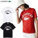 大特価!LACOSTE(ラコステ) ウェア TH0061L カレッジロゴクルーネックTシャツ メンズ 半袖