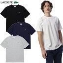 大特価!LACOSTE(ラコステ) ウェア TH635EN 鹿の子クルーネックTシャツ(半袖)メンズ