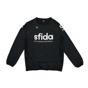 SFIDA(スフィーダ) JRベーシックピステジャケット ピステ アパレル ジュニア SA-BP15-JR-BLACK