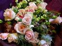 メアリーローズ花束■花 アレンジメント 花束 ローズ ばら 薔薇 記念日 結婚祝い 贈り物 お祝い即日発送 フラワー ギフト プレゼント 誕生日 出産祝い 結婚記念日 開店祝い スタンド花 バラ お供え お悔やみ ピンク