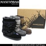 【送料無料】楽天最安値30%OFF!!【即納】【MANITOBAH MUKLUKS】Half Wraps MUKLUKS マニトバ ムックルック マクラク