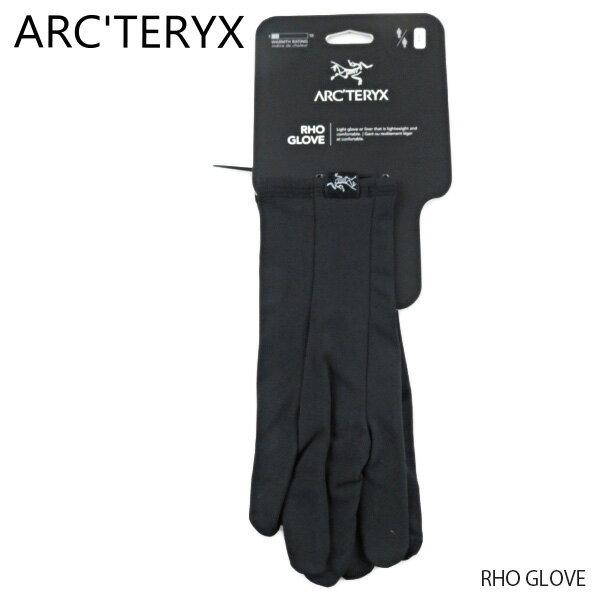 手袋・アームウォーマー, メンズ手袋 1ARCTERYX RHO GLOVE 21097 Black