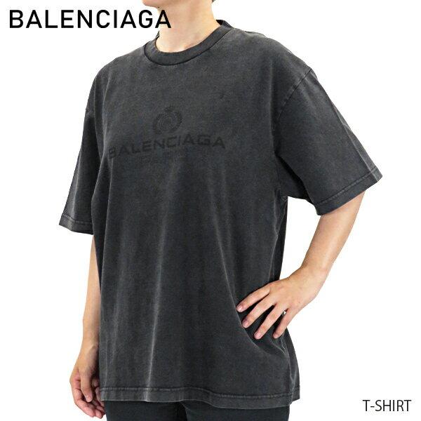 トップス, Tシャツ・カットソー 1000OFF BALENCIAGA CREW NECK T SHIRT T 594599THV85G 1140