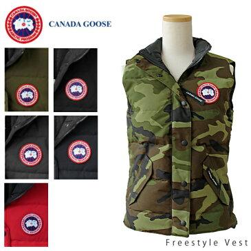 【150時間限定ポイント最大43倍!お買い物マラソン】【送料無料】【並行輸入品】【2018-2019AW】『CANADA GOOSE-カナダグース』Freestyle Vest-フリースタイル ベスト-[2832L Slim]