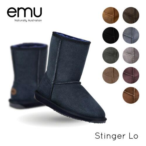 『emu-エミュー-』Stinger Lo[W10002][レディース ブーツ ムートンロー エ...