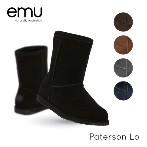 『emu-エミュー-』Paterson Lo[W10771][レディース ブーツ ムートン ウォー...