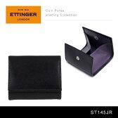 【送料無料】『Ettinger-エッティンガー-』Coin Purse Sterling Collection〔ST145JR〕[ スターリングパープル ワンオープンコインケース メンズ ロイヤルコレクション ]
