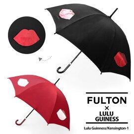 【同梱】【FULTON-フルトン-】Kensington-1LuluGuinnessモデル長傘〔L777〕[ケンジントンフルトン×ルルギネスコラボレディース長傘かさ]《ご返品交換》