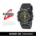 【予約】【CASIO-カシオ-】G-SHOCK〔GA100CF-1A9〕アナデジ[カシオメンズGショック腕時計時計ブラックゴールド黒]《6月16日前後発送予定》