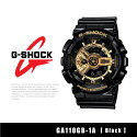【予約】【CASIO-カシオ-】G-SHOCK〔GA110GB-1A〕アナデジ[カシオメンズGショック腕時計時計黒]《6月16日前後発送予定》