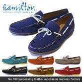 ��ͽ��ۡ�hamilton-�ϥߥ�ȥ�-��LeatherDeckShoes-�쥶���ǥå����塼��-[750][������塼���?�ե�������åݥ�]�Ԥ���ʸ��3������ȯ��ͽ���