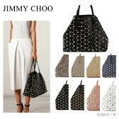 【送料無料】【2017 NEW】『JIMMY CHOO-ジミーチュウ-』SASHA M トートバッグ[スタースタッズ レザー ショルダーバッグ]