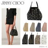 【送料無料】【2017 NEW】『JIMMY CHOO-ジミーチュウ-』SASHA S トートバッグ[スタースタッズ レザー ショルダーバッグ ハンドバッグ]