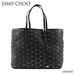 [무료 배송] [병행 수입품] JIMMY CHOO-Jimmy Choo SASHA M Sasha M 토트 백 숄더백 스타 스터드 가죽 숙녀 [ENL]