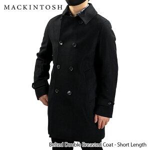 【500円OFFクーポン対象】MACKINTOSH マッキントッシュ Belted Double Breasted Coat ダブルブレストコート トレンチコート チェスターコート アウター ベルト付き メンズ GM-005F MO2841