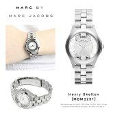 【予約】【送料無料】『MarcbyMarcJacobs-マークバイマークジェイコブス』HenrySkelton腕時計[MBM3291][レディースヘンリースケルトンアナログシルバー]《9月26日前後発送予定》