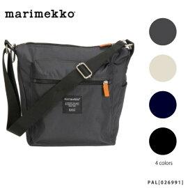 【予約】【2014AW】【Marimekko-マリメッコ】PAL[026991][グレー・ブラック][ショルダーバッグ・肩がけ・メンズ・レディース]《7月30日前後発送予定》