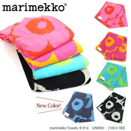 『Marimekko-マリメッコ』Towels-タオル UNIKKO [100×180][063628]■