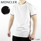 【予約】【並行輸入品】【2019 SS】【新作】『MONCLER-モンクレール-』T-SHIRT-ロゴワッペン クルーネック Tシャツ-[80199 00 87296]《ご注文後3日前後発送予定》